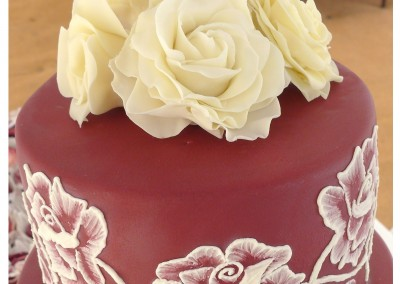 Sugarcraft roses